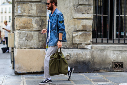 Pfw Men S Wear Ss17 Frenchy Style Street Style By Jonathan Paciullo
