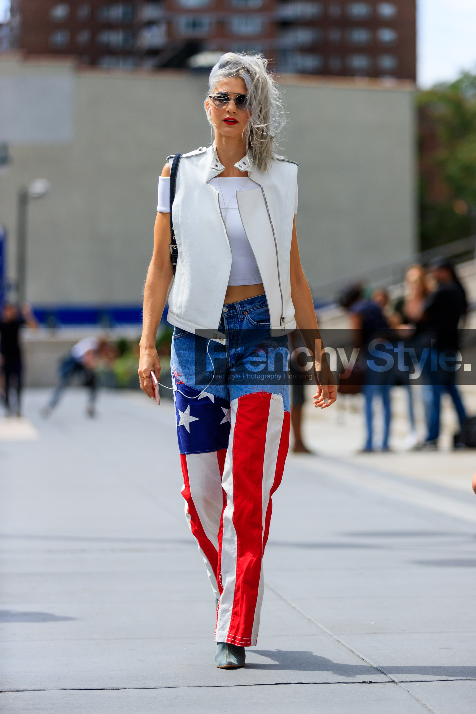 To acquire Flag American street style picture trends