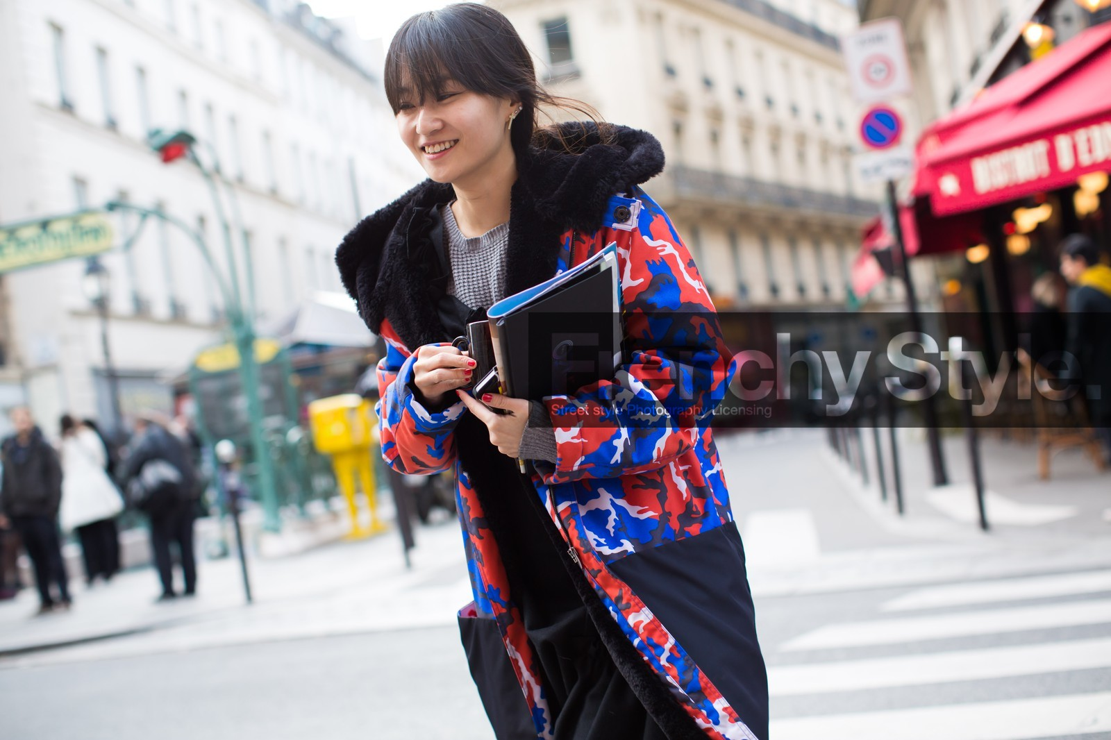 Autumn-winter season 2014-2015 in real street images