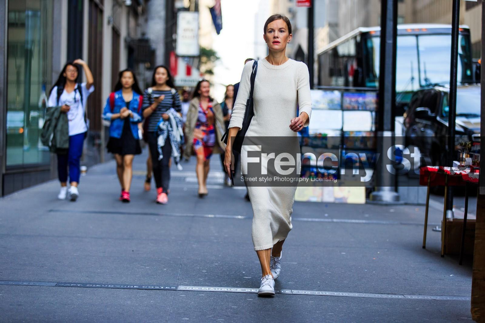 ... dress, NEW YORK, NYFW, running shoes, SPRING SUMMER 2016, SS 16, stan